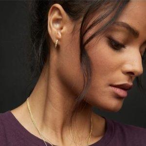 Gorjana Madison Shimmer Huggies - Earrings